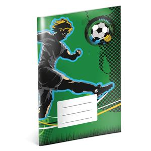 Football - A4 school book, lined