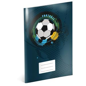 Football - A4 school book, square