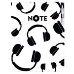 Notes DESIGN A4 liniowany - Music