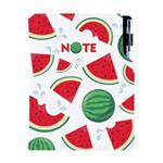 Notes DESIGN B5 czysty - Arbuz