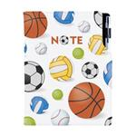 Notes DESIGN B6 kratkowany - Sport