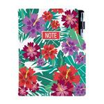 Notes DESIGN B6 kratkowany - Tropic